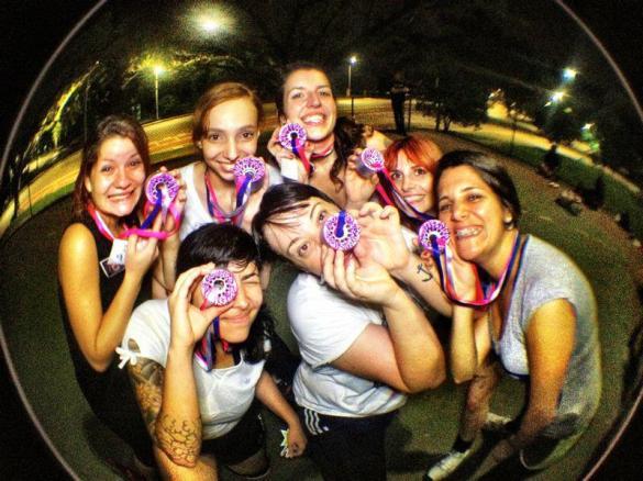 Carninhas e Vets da liga de roller derby mais forte do Brasil
