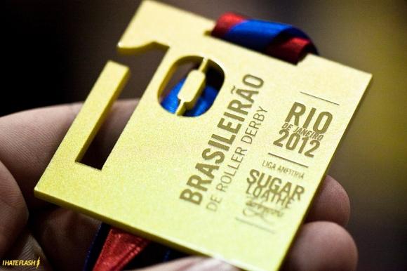 brasileirao de roller derby, medalha